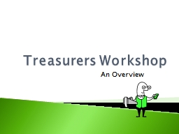 Treasurers Workshop