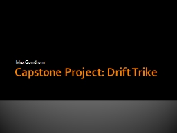 Capstone Project: Drift