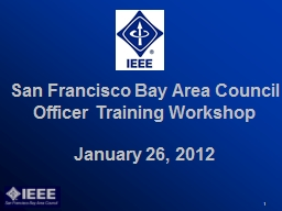 San Francisco Bay Area Council PowerPoint PPT Presentation