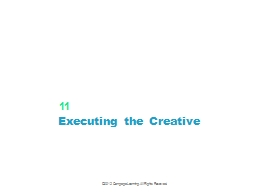 Executing the Creative
