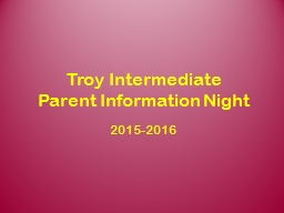 Troy Intermediate