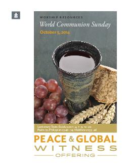 WORSHIP RESOURCES World Communion Sunday October   Lectionary Texts Exodus     Psalm  Philippians b Matthew   Preparation Notes On World Communion Sunday as we prepare to celebrate the sacrament of t
