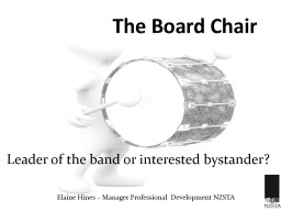 The Board Chair