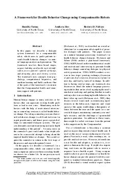 Proceedings of the th International Natural Language Generation Conference  pages  Philadelphia Pennsylvania  June