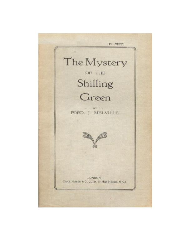 The Mystery  Of the  Shilling Green     The great British Stamp Forge
