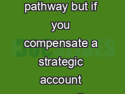 here are seven stations on the sales compensation design pathway but if you compensate a strategic account manager the most critical station is the first job role