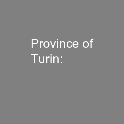 Province of Turin: