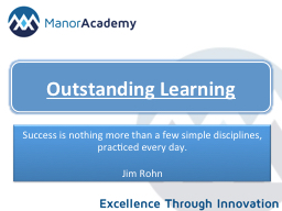Outstanding Learning