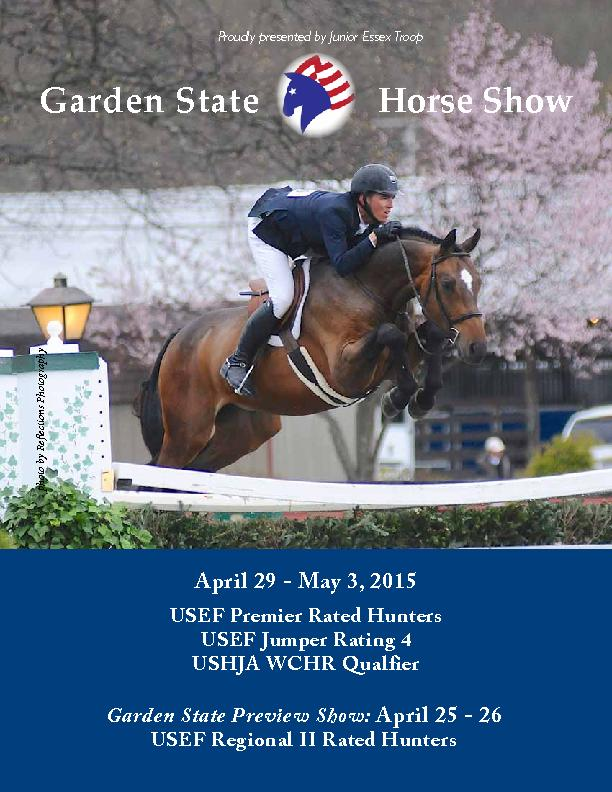 USEF Premier Rated HuntersUSEF Jumper Rating 4USHJA WCHR QualfierApril