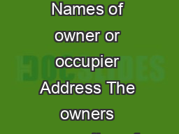 Notice to Comply with a ByLaw Strata Schemes Management Act  Section  Names of owner or occupier Address The owners corporation of strata plan number has decided to issue you with this notice because