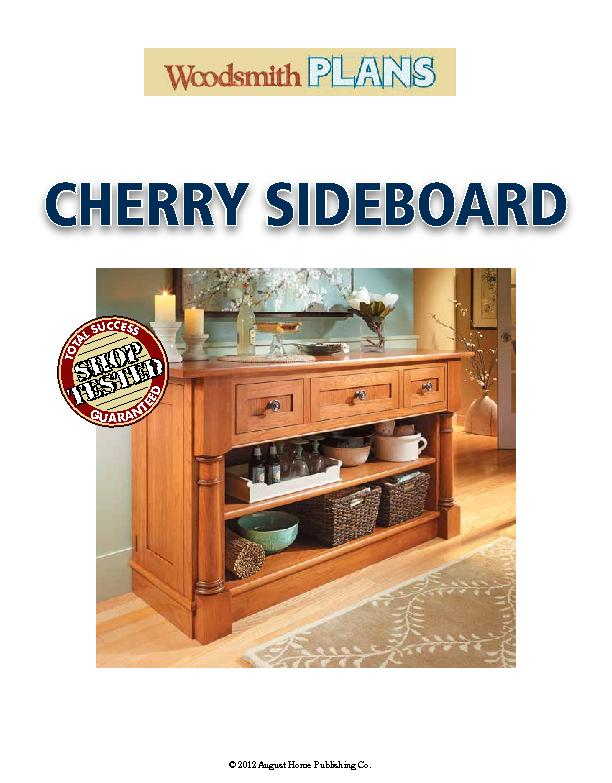 CHERRY SIDEBOARD PowerPoint PPT Presentation