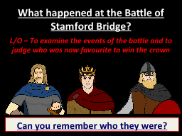What happened at the Battle of Stamford Bridge?