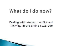 Dealing with student