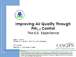 Improving Air Quality Through