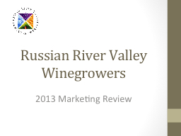 Russian River Valley Winegrowers 3