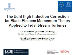 The Buhl High-Induction Correction for Blade Element Moment