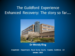 The Guildford Experience
