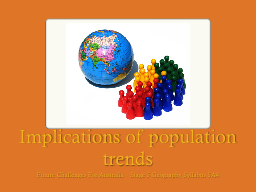 Implications PowerPoint PPT Presentation