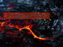 Beowulf and Tolkien