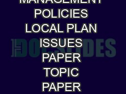 SOUTH NORTHAMPTONSHIRE COUNCIL SOUTH NORTHAMPTONSHIRE SETTLEMENTS AND DEVELOPMENT MANAGEMENT POLICIES LOCAL PLAN ISSUES PAPER TOPIC PAPER DRAFT METHODOLOGY FOR TOWN AND VILLAGE CONFINES OCTOBER   SNC
