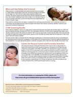 National Center on Birth Defects and Developmental Disabilities Division of Birth Defects and Developmental Disabilities Understanding Critical Congenital Heart Defects Congenital heart defects CHDs