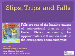 Slips, Trips and Falls PowerPoint PPT Presentation