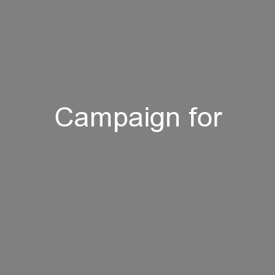 Campaign for