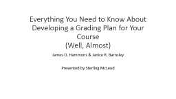 Everything You Need to Know About Developing a Grading Plan
