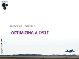Optimizing a Cycle