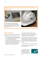 Hard hats What you need to know as a busy builder Health and Safety Executive Wa