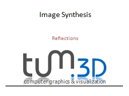 Image Synthesis PowerPoint PPT Presentation