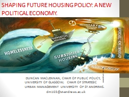 SHAPING FUTURE HOUSING