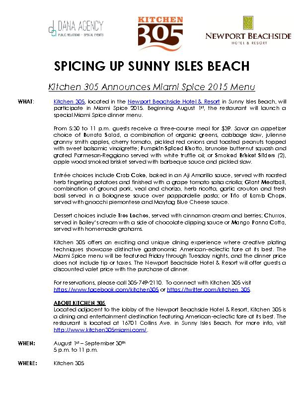SPICING UP SUNNY ISLES PowerPoint PPT Presentation