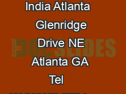 Consulate General of India Atlanta   Glenridge Drive NE Atlanta GA  Tel    WdWWEdZEd www