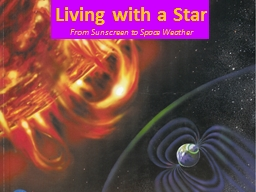 Living with a Star