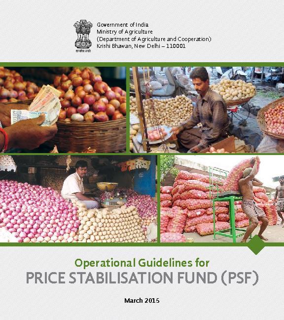 PRICE STABILISATION FUND (PSF) Operational Guidelines forMarch 2015 ..