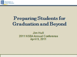 Preparing Students for Graduation and Beyond PowerPoint PPT Presentation