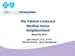 The Patient-Centered