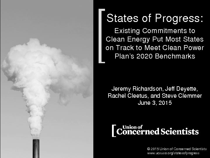 States of ProgressExisting Commitments to Clean Energy Put Most States PowerPoint PPT Presentation