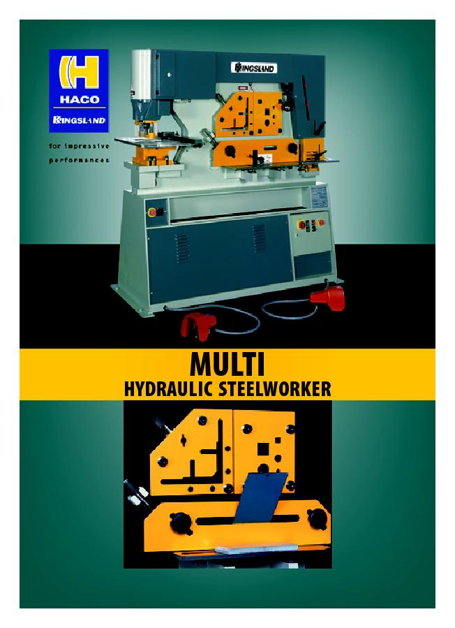 MULTIHYDRAULIC STEELWORKER