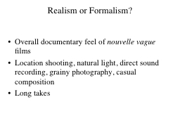 Realism or Formalism?