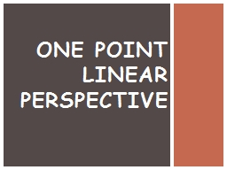 One Point PowerPoint PPT Presentation