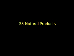 35 Natural Products
