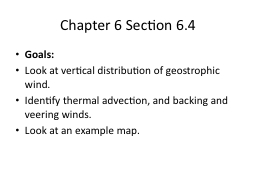 Chapter 6 Section 6.4