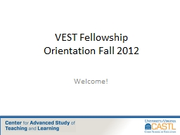 VEST Fellowship