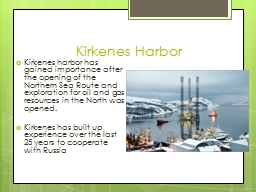 Kirkenes Harbor