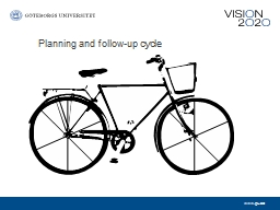 Planning and follow-up cycle PowerPoint PPT Presentation