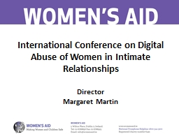 International Conference on Digital Abuse
