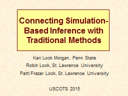 Connecting Simulation-Based Inference with Traditional Meth