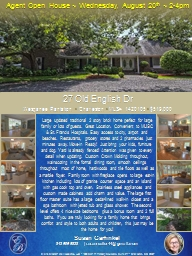 Agent Open House ~ Wednesday